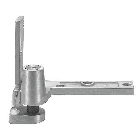 Pivot Hinge, Brass, 180 Deg, Full Surface