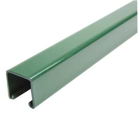 "Strut Channel, 1-5/8"" W, 10 ft. L, Green"
