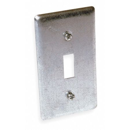 Electrical Box Cover, Toggle Switch, 1Gang