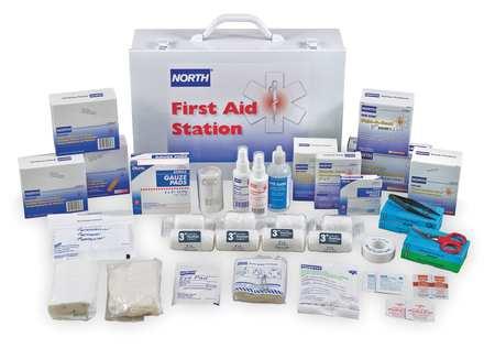 First Aid Kit, Bulk, White, 100 People