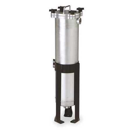 Bag Filter Housing, Alum, 2 In FNPT