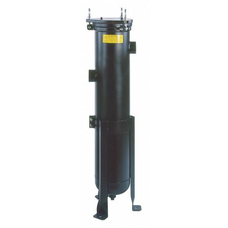 Bag Filter Housing, Carbon Steel, 1 1/4 In