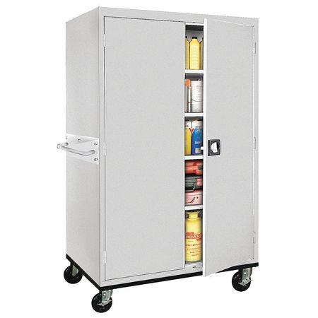 Mobile Storage Cabinet Dove Gray