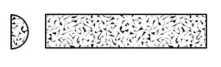 Sharping File, Half Rd, A/O, Org/Brn