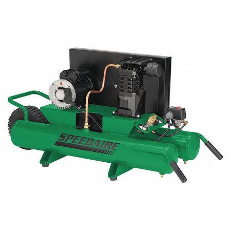 Air Compressor, 1.8 HP, 115/230V, 125 psi