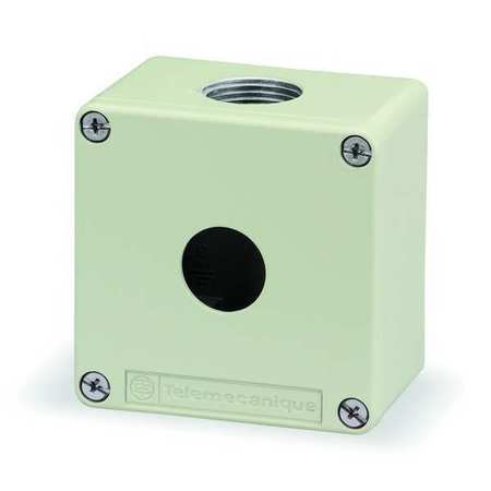 Pushbutton Enclosure, 3.03 in., Metal