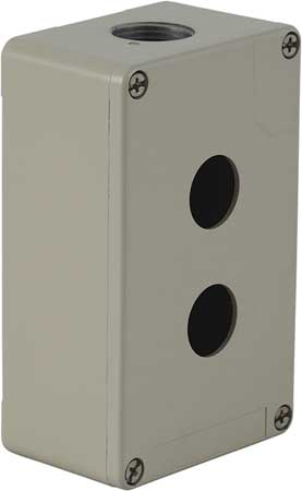 Pushbutton Enclosure, 2.03 in., Metal
