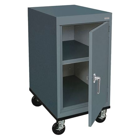 Mobile Storage Cabinet Welded Charcoal
