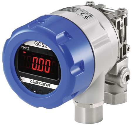 Pressure Transducer, +/-8 In WC