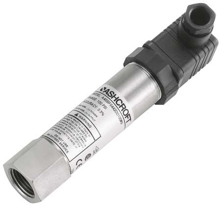 Intrinsically Safe Transducer, 0 to500psi