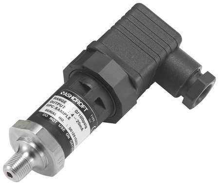 Transducer, 0 to1000 psi, Output 1 to 5VDC