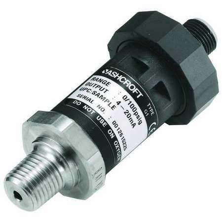 Pressure Transducer, Range 0 to 1000 psi,