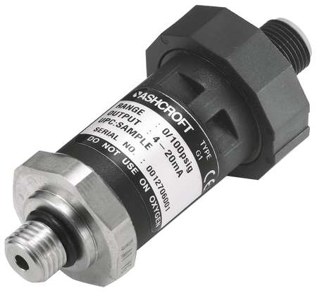 Transducer, 0 to3000 psi, Output 1 to 5VDC