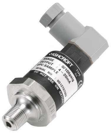 Transducer, 0 to 30 psi, Output 1 to 5VDC