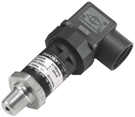 Pressure Transducer, 30 In Hg Vac to30psi