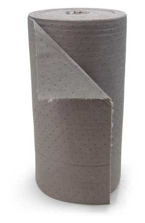 Absorbent Roll, Gray, 55 gal., 28-1/2 In. W