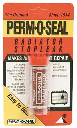 Radiator Stop Leak, Granules, 0.07 oz