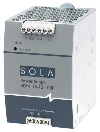 SDN Series DC Power Supplies (DIN Mounted)