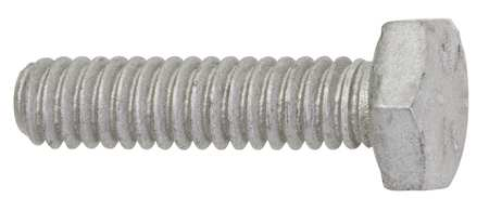 "1/4""-20 x 1/2"" Grade 8 Armor Coat UNC (Coarse) Hex Head Cap Screws,  100 pk."