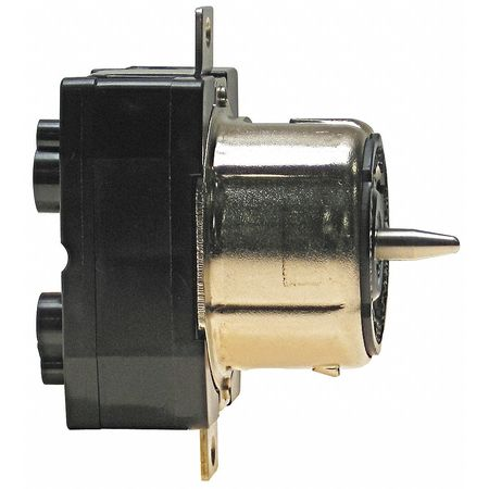 50A Locking Receptacle 3P 4W 250VAC BK/WT