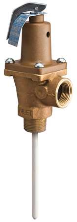T and P Relief Valve, 3/4 In. Inlet