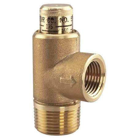 Adjustable Relief Valve, 3/4 x 1/2 In