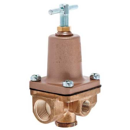 Pressure Regulator, 1/4 In, 3 to 50 psi