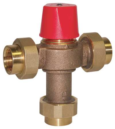 Mixing Valve, Brass, 0.5 to 23 gpm, 150 psi