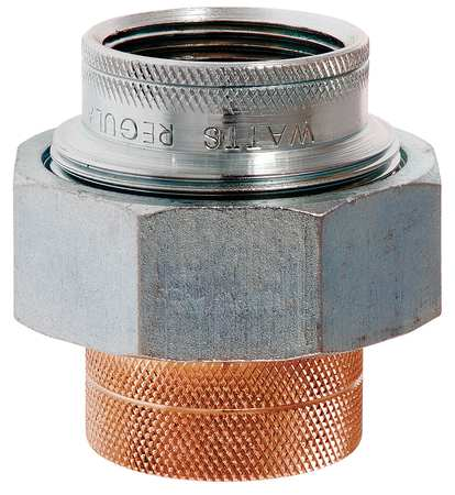 Dielectric Union, 1/2In, MIPxSolder, 250psi
