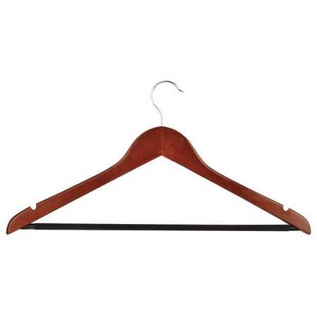 Wood Suit Hanger, Cherry, PK24