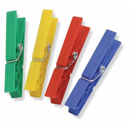 Clothespins, Plastic, PK100