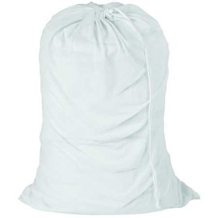 Laundry Bag, White, Mesh