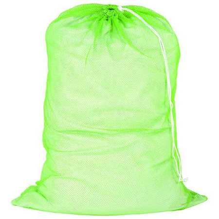 Laundry Bag, Green, Mesh