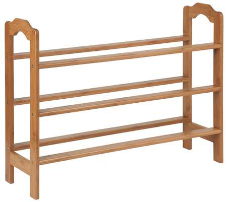 Shoe Rack, 3-Tier, 9 to 12 Pairs