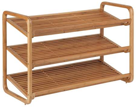 Shoe Shelf, 3-Tier, 9 to 12 Pairs