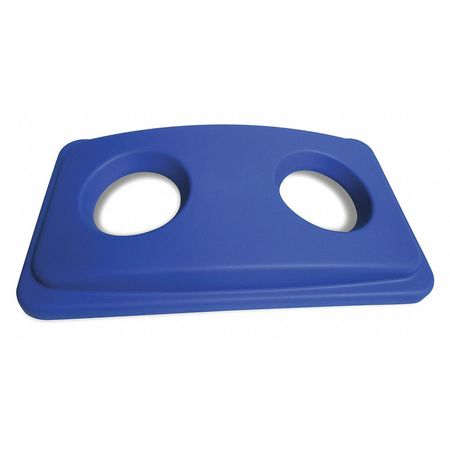 Recycling Top, Plastic, Blue