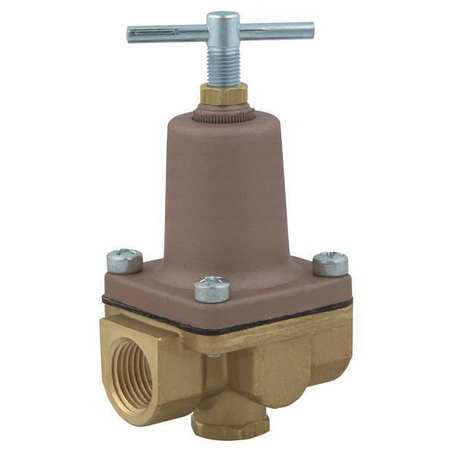 Pressure Regulator, 3/8 In, 3 to 50 psi