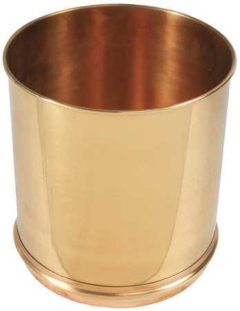Separator Pan, Brass, 8 In Dia, 8 In Deep