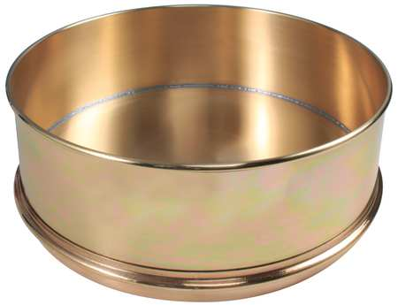 Separator Pan, Brass, 12 In Dia, 4 In Deep