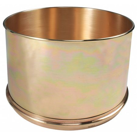 Separator Pan, Brass, 12 In Dia, 8 In Deep