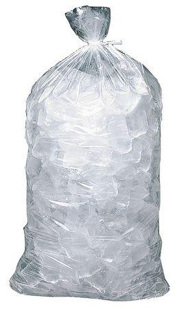 Ice Bag, 20x11 In., 1.20 mil, Pk1000