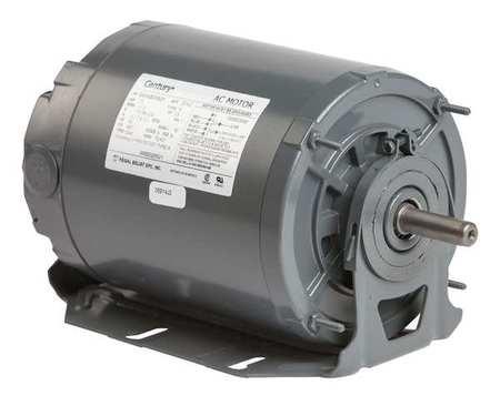 Motor, Sp Ph, 1/4 HP, 1140, 115/208-230V, 48Y