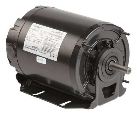 Motor, Sp Ph, 1/4 HP, 1140, 115/208-230V, 48Y