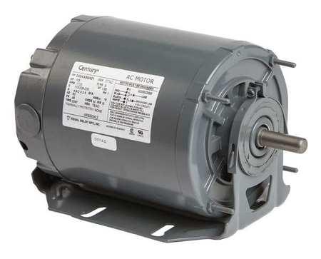 Motor, Sp Ph, 1/3 HP, 1725, 115/208-230V, 48