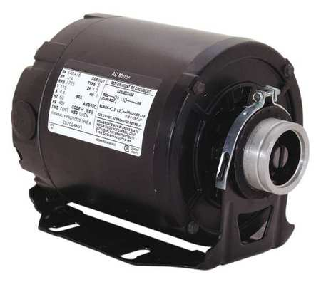 Pump Mtr, Split Ph, 1/3hp, 1725, 115/230, 48Y