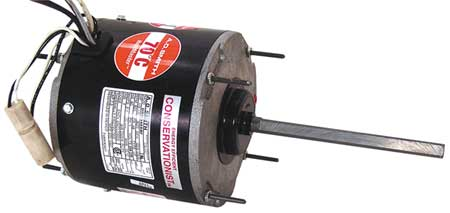 Condenser Fan Motor, 1/15to1/8HP, 825 rpm
