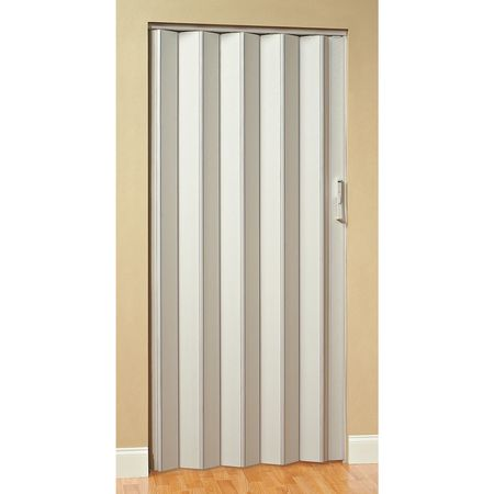 Panelfold Folding Door, 96 x 32 In., White Scale/4 | Zoro.com