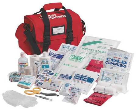 First Responder Kit, Red, Nylon