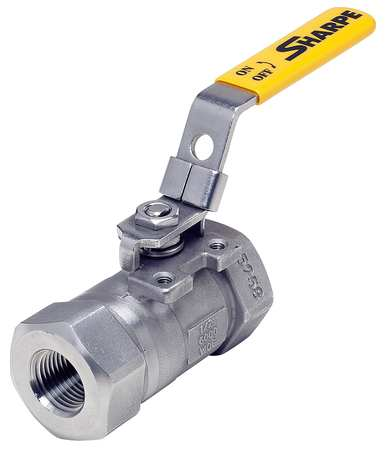 "1/4"" FNPT Stainless Steel Ball Valve Inline"