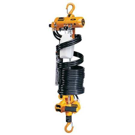 Air Chain Hoist, 250 lb. Cap., 13 ft. Lift